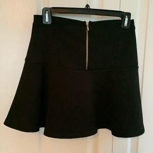 Cute short black skirt-stretchy!